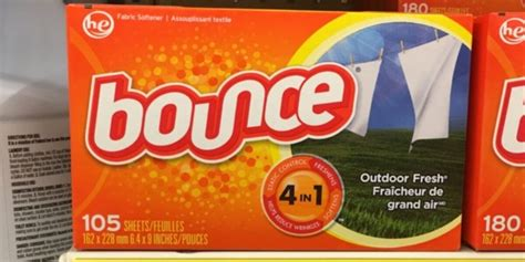 printable bounce fabric softener coupons bounce fabric softener sheets just 0 03 per load at