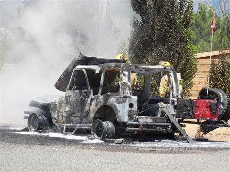 jeep owner sad day for jeep owner as fire torches rig cedar city news