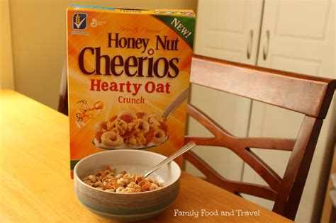 Cheerios Honey Nut Oats honey nut cheerios hearty oat crunch giveaway hncheartyoatcrunch family food and travel