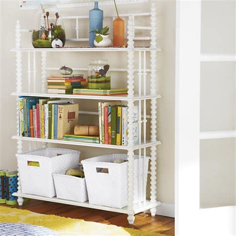 lind bookcase white the land of nod