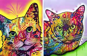 colorful cat colorful cat portraits by dean russo hauspanther