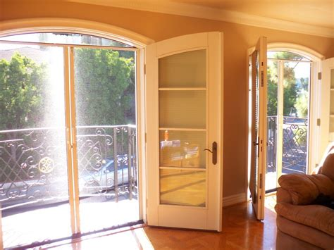 secure  double french doors  creative mom