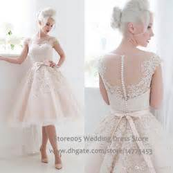 Chinese Wedding Dresses Cute Short Blush Pink Wedding Dresses 2016 Puffy Lace Bridal Dress China Sash Ball Gown Bow