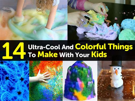 things to make with 14 ultra cool and colorful things to make with your