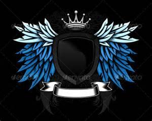 heraldic shield with wings www moderngentz com your