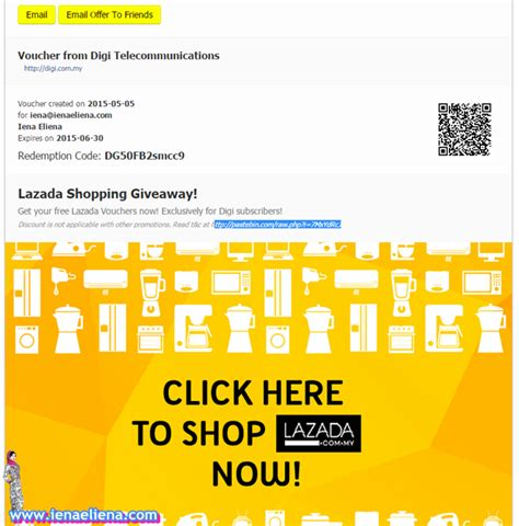 Shopping Giveaway - digi lazada shopping giveaway fashion beauty lifestyle and food blogger