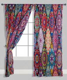 colorful curtains best 25 hippie curtains ideas on bohemian
