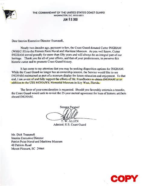 appreciation letter for security guard awards maritime restoration