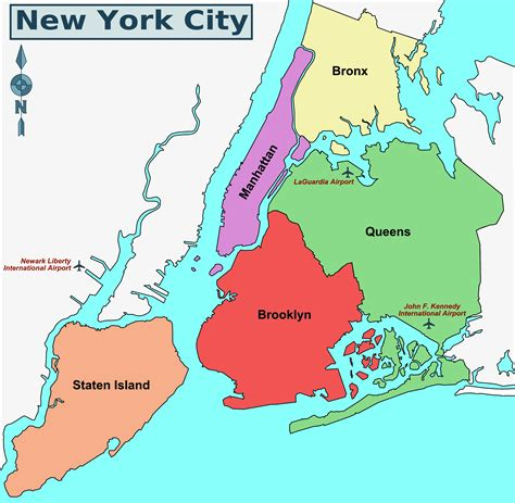 district map of nyc image gallery new york district map
