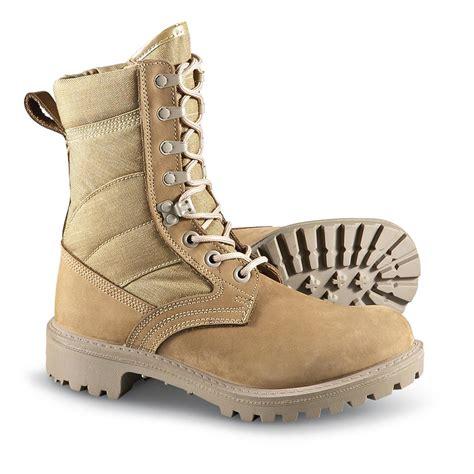 desert military men s new british desert combat boots tan 182410