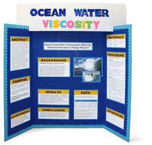 Tri Fold Poster Template by Science Fair Project Display Board With Elmer S Tri Fold