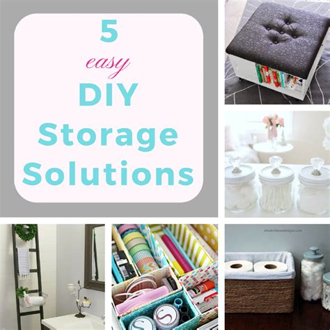 diy solutions 5 easy diy storage solutions keeping it real