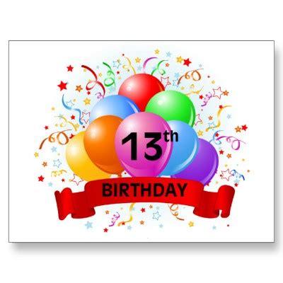 Happy Birthday 13th Birthday Wishes Twin Boy 13th Birthday Decor Happy 13th Birthday 4d2