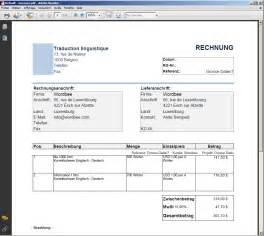 german invoice template customisable invoices and quotes wordbee support and