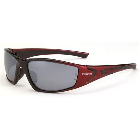 radians safety crossfire hardline protective eyewear