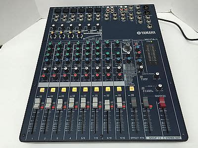 Mixer Yamaha Mg 124cx Mixer Yamaha Mg 124cx Mixer Yamaha Mg 124 Cx yamaha mg124cx mixing console 12 channel mixer what s it worth