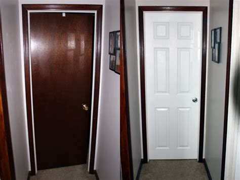 white bedroom doors painted door with stained trim interior doors diy