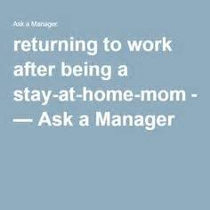 How To Stay At A Company Free Mba by Sle Cover Letter For Stay At Home Returning To