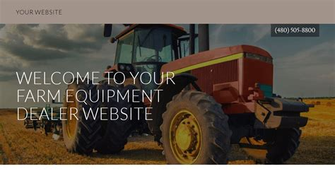 agricultural equipment manufacturer in maldives exle 10 farm equipment dealer website template godaddy