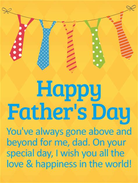 wishing  love  happiness happy fathers day card
