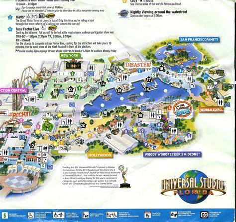 park orlando universal studios orlando park map my