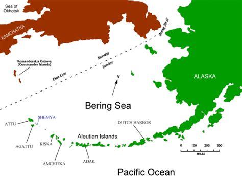 aleutian islands map shemya semichi aleutians alaska