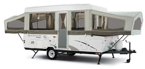 Coleman Popup Campers Floor Plans by 2007 Forest River Rockwood Tent Trailer Rvweb Com