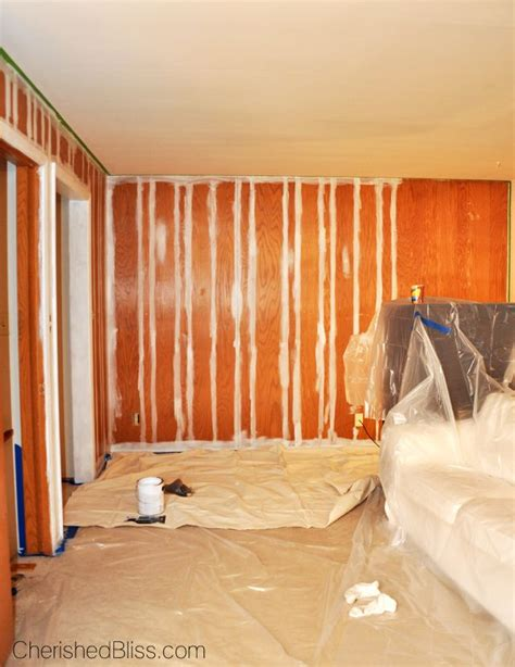 painted wood paneling how to paint wood paneling