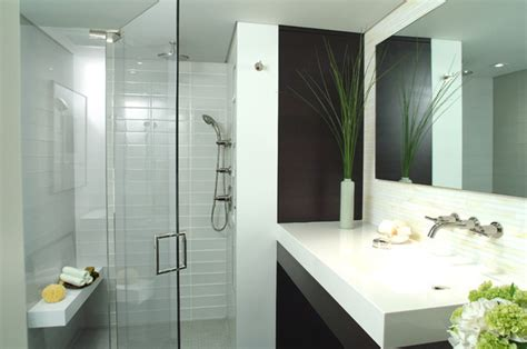 New Modern Bathrooms Mid Town Nyc Residence Modern Bathroom New York By Complete Tile Collection