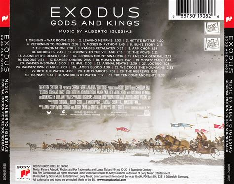 film exodus gods and kings film music site exodus gods and kings soundtrack
