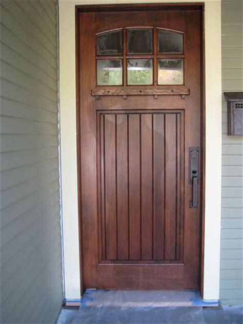 Craftsman Style Front Door Craftsman Front Door For Our Home