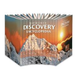 World Booking Discovery Encyclopedia Book Set For Students