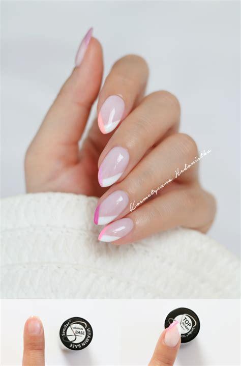 manicure na lato w wakacyjnych odcieniach color french
