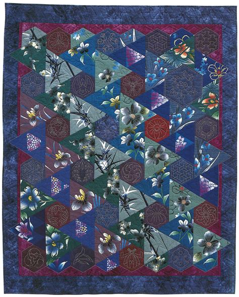 Japanese Patchwork Patterns - japanese fabric quilt patterns motifs sashiko more