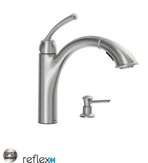 moen pull out kitchen faucet 100 moen automatic kitchen faucet com 87047srs in spot resist stainless by moen