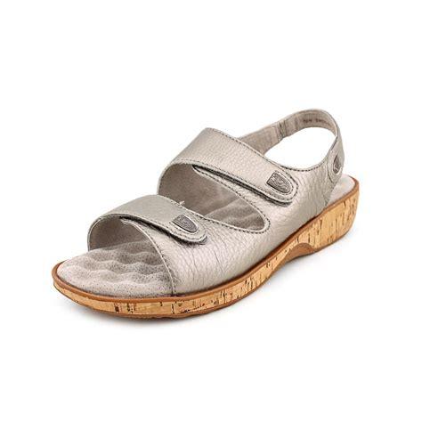 narrow womens sandals softwalk bolivia womens size 9 silver narrow leather