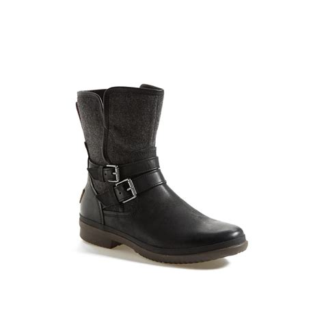 ugg boots for womens ugg australia women s simmens waterproof leather boot