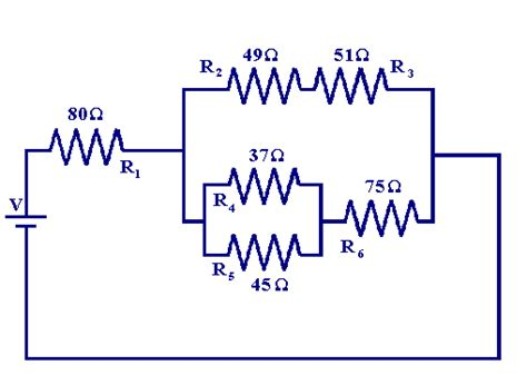resistors in series and parallel exle problems what are resistor combinations socratic