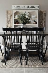 Farmhouse Dining Room Chairs by 17 Best Ideas About Farmhouse Dining Rooms On Pinterest