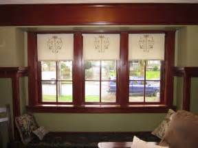 arts and crafts window treatments laurelhurst craftsman bungalow we made roller shades