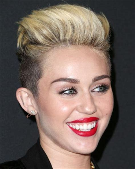 picturs of miley cyrus pink haircut front back and sides gorgeous undercut hairstyles for girls fave hairstyles