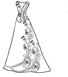 dress coloring pages 63 best images about coloring pages on