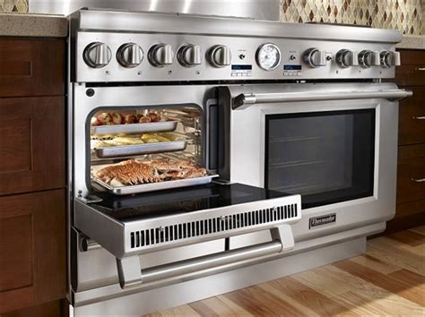 Kitchen Oven thermador dual fuel steam range all in one cooking