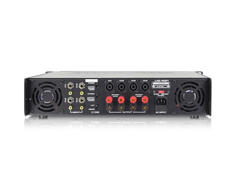 technical pro 4000w 4 channel power lifier pro