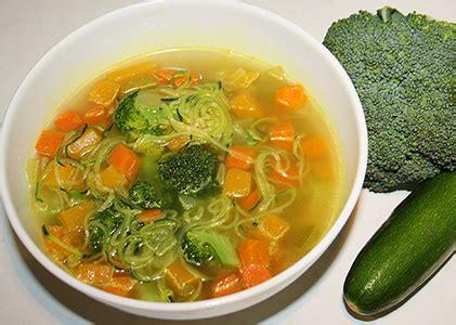vegetables 100 calories 100 calorie vegetable zoodle soup reboot with joe