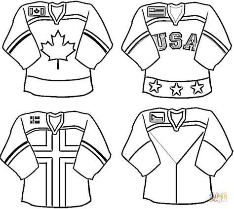 cool hockey coloring pages nhl uniformut v 228 rityskuva