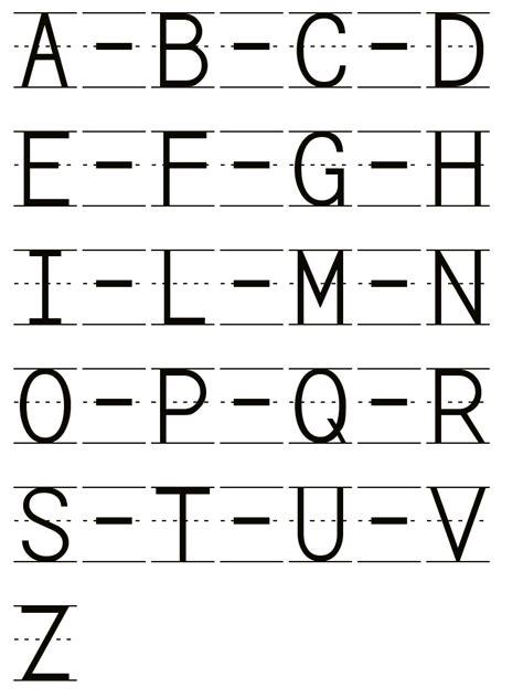 lettere alfabeto italiano corsivo pregrafia alfabeto corsivo maiuscolo
