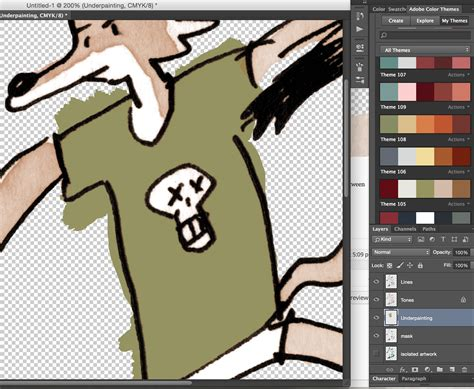 coloring in photoshop colouring in photoshop thingsbydan