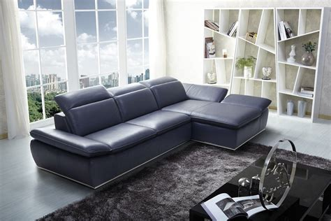 Blue Leather Chair And Ottoman Design Ideas Blue Leather Sofa Decorating Ideas Okaycreations Net