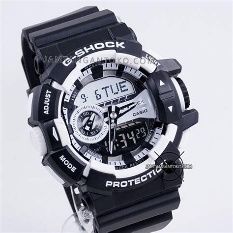 Jam Tangan G Shock Ori White harga sarap jam tangan g shock ga 400 1a black white